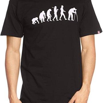 T-shirt Standard Edition Fotograf Evolution Fotografie Kamera