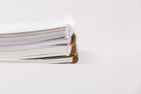 Product Photography - Springwood Printing Wiro Bound Books