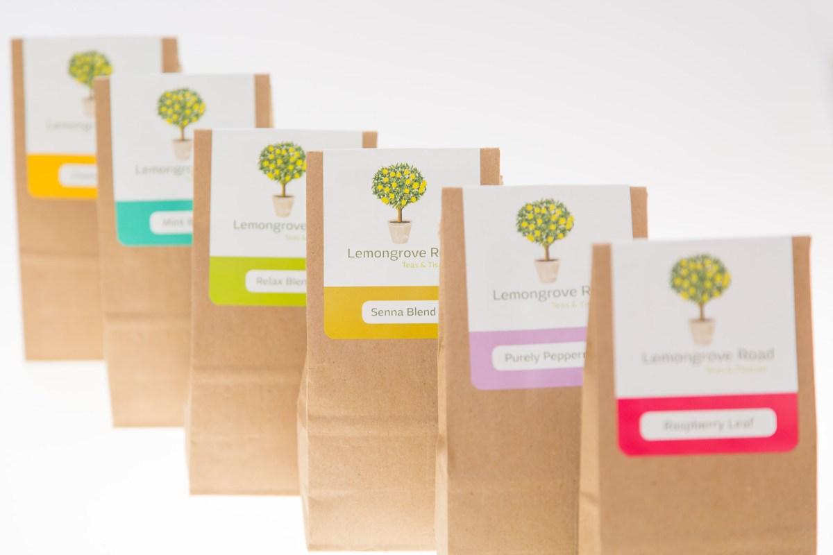 Product Photography - Lemongrove Road Teas