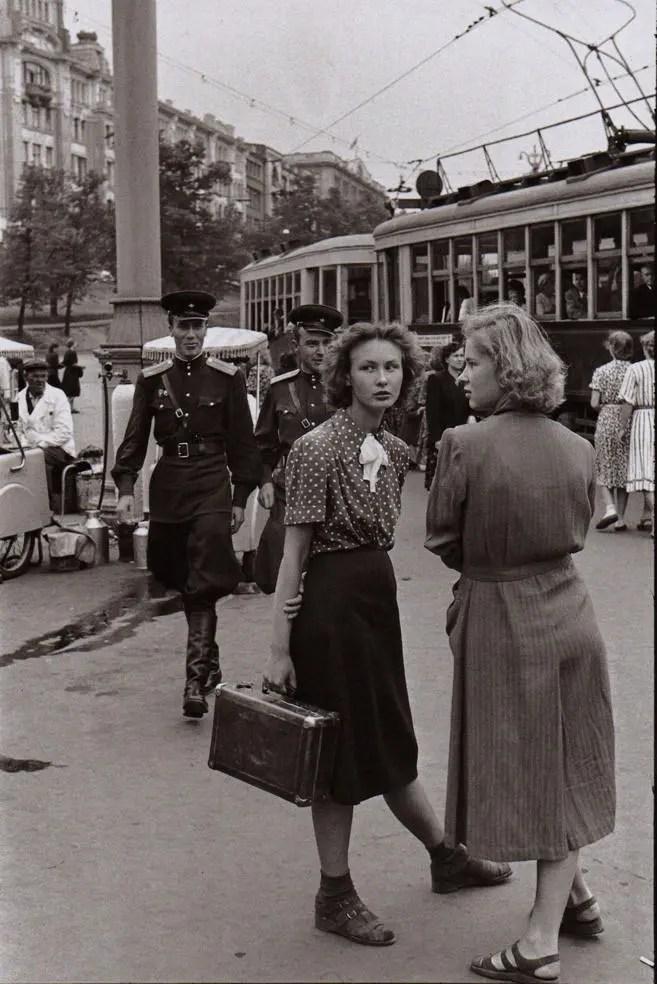 Henri Cartier-Bresson Soviet Union 1954