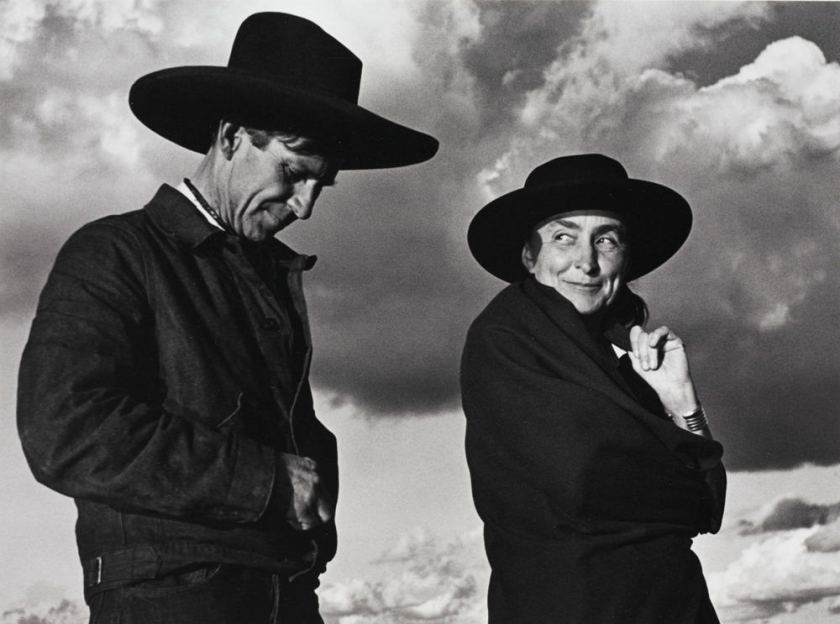Ansel Adams, Georgia O'Keeffe and Orville Cox, Canyon de Chelly National Monument, Arizona, 1937