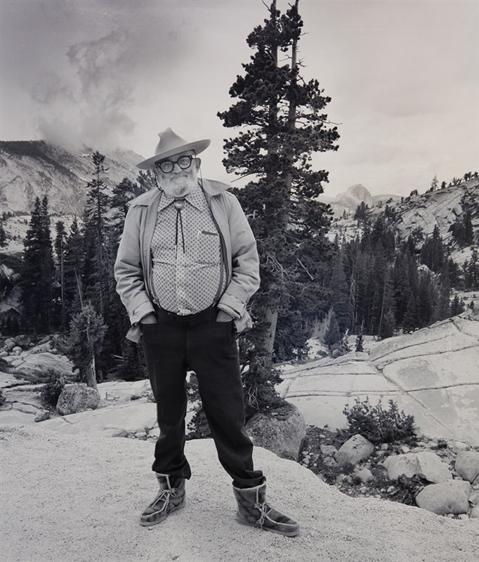 Ansel Adams Olmsted Point Yosemite