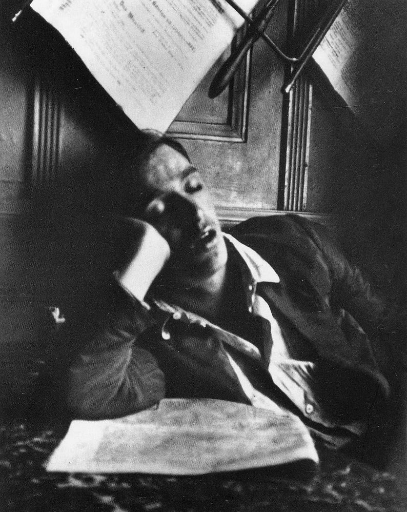 andre kertesz sleeping boy