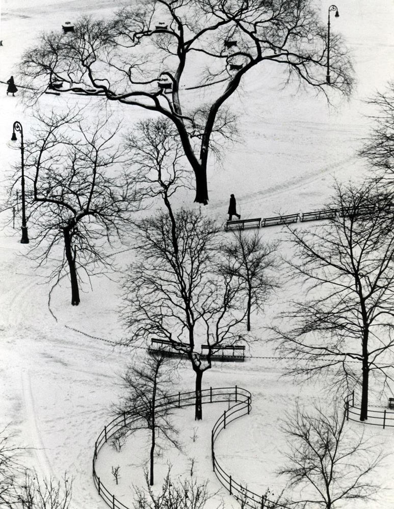 andre kertesz washington square park