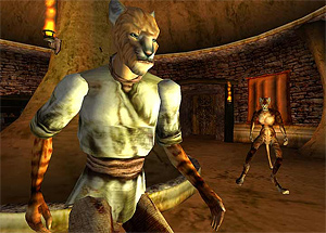 Khajiit if you can!  Morrowind changed everything for me, in terms of immersive gaming and graphic appreciation.  Bethesda, you rock!