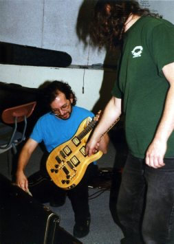Stefan Dill and Quincy Adams   9 may 1999   Photo: Mark Weber   click to enlarge...