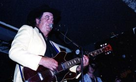 Sleepy LaBeef -- September 7, 1994 -- Dingo Bar, Albuquerque -- photo by Mark Weber