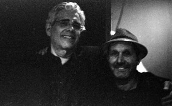 David Moss & Tom Guralnick -- September 21, 2o12 -- Albuquerque -- photo by Mark Weber