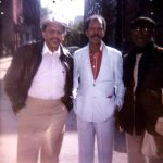 Bobby Bradford, Ornette Coleman, John Carter -- New York City, 1980s -- photo by Charles Moffett