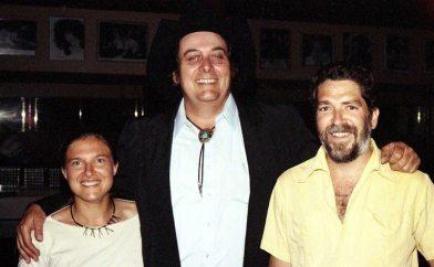 Janet & Sleepy LaBeef & me -- July 17, 1990 -- Salt Lake City