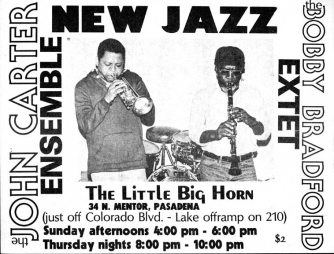 My poster design and my photo -- 1976 -- Little Big Horn (incidently, this is the photo that shows up on the Mosaic Select CD collection uncredited, through no fault of Michael Cuscuna, I hasten to add)