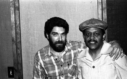 Mark Weber and Bobby Bradford at LOST IN L.A. session -- June 7, 1983