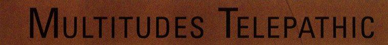 Multitudes Telepathic | Libretto (pfMENTUM CD078 | released 22nov13)