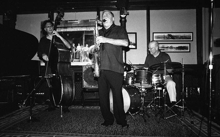 The Kazzrie Jaxen Quartet ---- August 24, 2o14 ---- photo Mark Weber