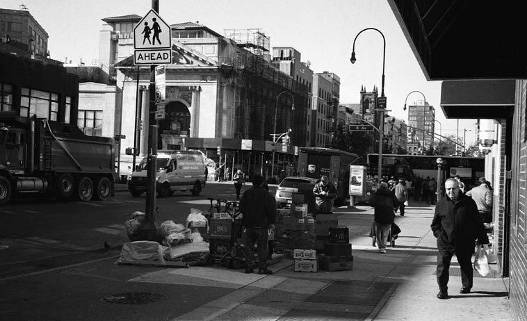 12:08 Noon --  14th Street & 8th Avenue --November 14, 2014 -- photo by Mark Weber
