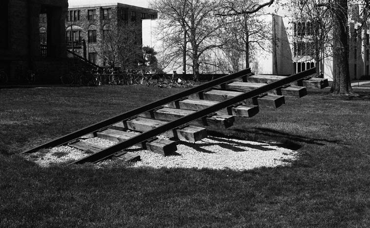 The Underground Railroad ------- by Cameron Armstrong, 1977 -- Oberlin, Ohio -- photo by  Mark Weber -- April 30, 1988