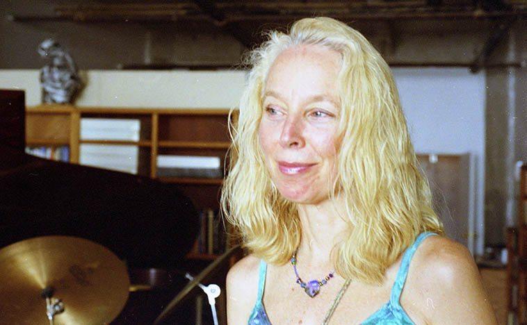 Kazzrie Jaxen ----Sept 18, 2005 at Connie's loft in Williamsburg ---- photo by Mark Weber