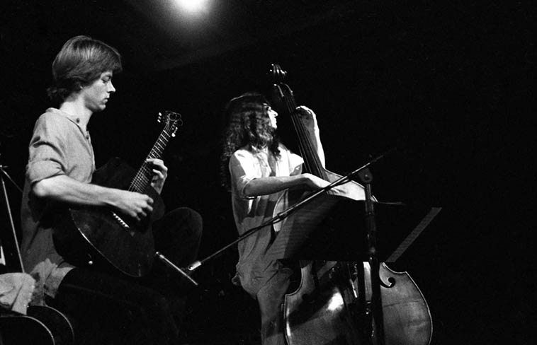 Nels Cline & Eric Von Essen Duo -- August 25, 1979, Pasadena, California -- photo by Mark Weber