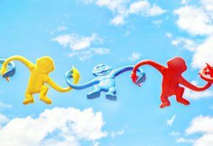 友達と遊ぶ