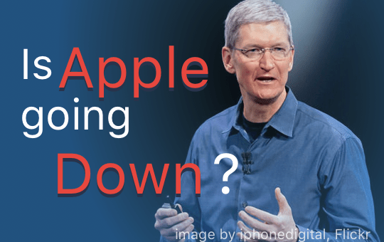 Apple is on the verge of collapse?
