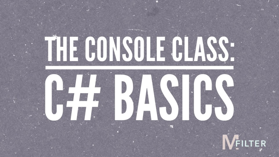 The Console Class