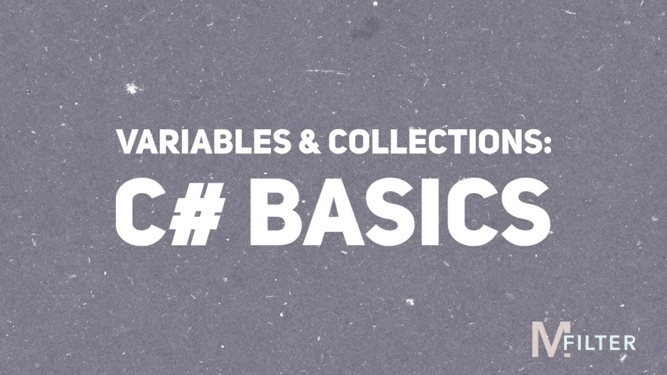 Featured Image for tutorial on C# variables and collection types