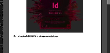 Markzware PDF2DTP for Adobe InDesign CC Macintosh Windows Converted PDF