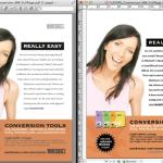 Markzware PDF2DTP Exemple de conversion de données