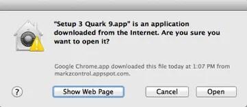 Markzware PDF2DTP for QuarkXPress Application Downloaded From Internet