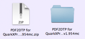 Markzware PDF2DTP for QuarkXPress Decompressed ZIP File