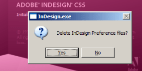 InDesign Auto Recovery Failed