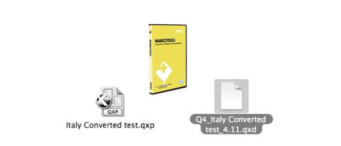 Markzware MarkzTools 8 to Down-Save QuarkXPress to v4