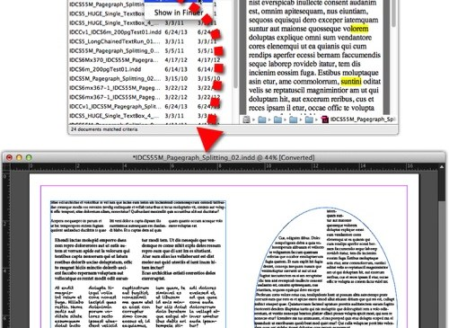 Markzware PageZephyr Search Mac Right Clicking Filename