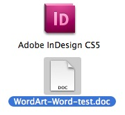 Get a Word Document with Embedded Images into InDesign