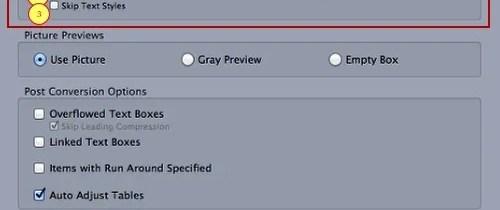 Markzware ID2Q QuarkXPress 9 10 Mac Text Attributes Settings