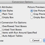 Markzware ID2Q for QuarkXPress Picture Previews Settings