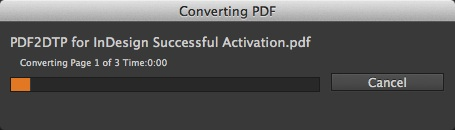 Markzware PDF2DTP for InDesign CC Mac Win Conversion