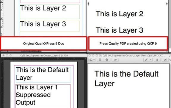 Markzware Q2ID for InDesign CC Suppressed Output for Layers