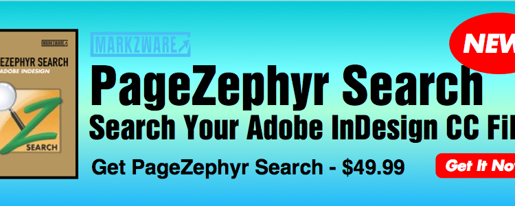 Markzware PageZephyr Search Banner