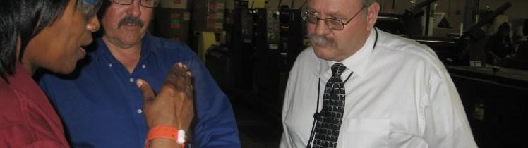 Pub2ID User, Ron Diller, print shop supervisor, Colorado Correctional Industries