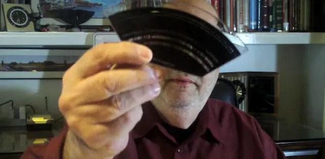 Itek 1200/1400 phototypesetter font diskette (Frank Romano)