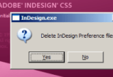 InDesign Auto-recovery Failed