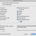 Markzware PDF2DTP for InDesign General Preferences