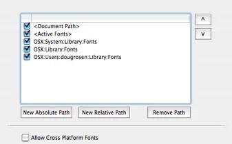 Markzware FlightCheck Fonts Preferences Setup