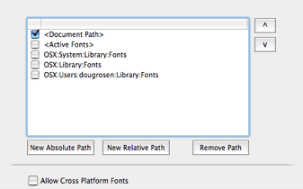 Markzware FlightCheck Preferences Setup Fonts Document Path Job Set