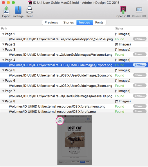 Open in ID Feature in Markzware's ID Util macOS to Open INDD Documents in the Right Adobe InDesign Version
