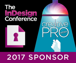 Markzware Sponsors The InDesign Conference during CreativePro Week 2017