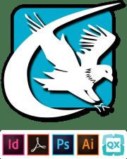 Markzware FlightCheck-Logo und DTP-Logos 480x595