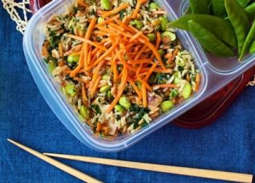 Chicken & Veggie Sizzle Rice
