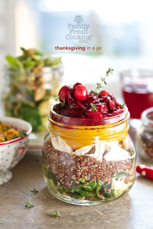 Thanksgiving in a Jar | Leftovers Recipe | MarlaMeridith.com